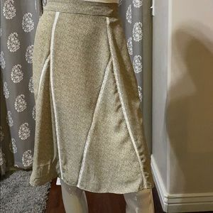 NWT. Sage green Downeast skirt.